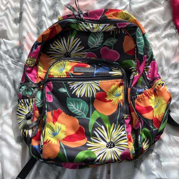 8d1e310b1ec Vera Bradley Bags   Retired Jazzy Blooms Backpack   Poshmark